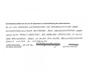 Hausbau-Erfahrungen mit der iDEA Dein Haus GmbH - Auszug 2