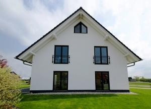 klassiches Satteldachhaus