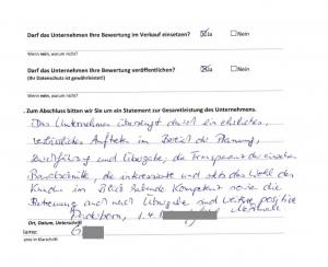 Hausbau-Erfahrungen mit der Grund-Invest GmbH & Co. KG - Auszug 6