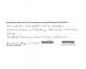 Hausbau-Erfahrungen mit der MHB Stumm Bauunternehmung GmbH - Auszug 6