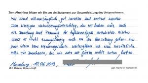 Hausbau-Erfahrungen mit der MHEL Massivhaus GmbH - Auszug 2