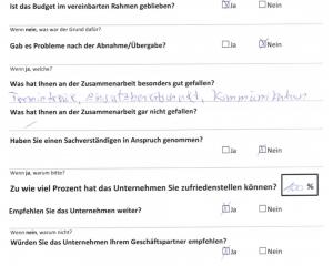 Erfahrungen mit der OSTRAUER Baugesellschaft mbH - Gewerbebau - Auszug 2